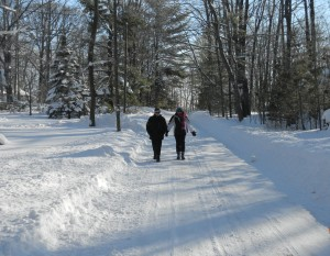 snow walking Peg